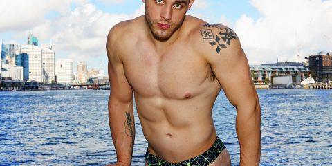 Garçon Model Underwear with model John by Karim Konrad