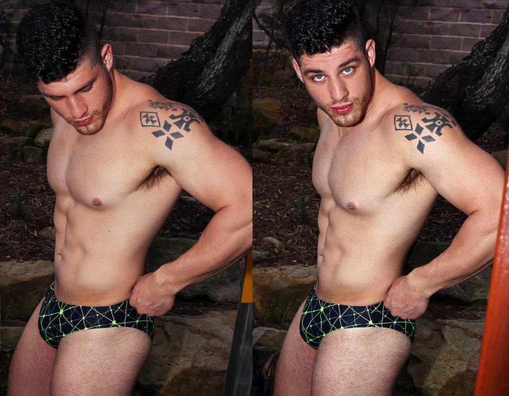 Garçon Model Underwear with model John by Karim Konrad