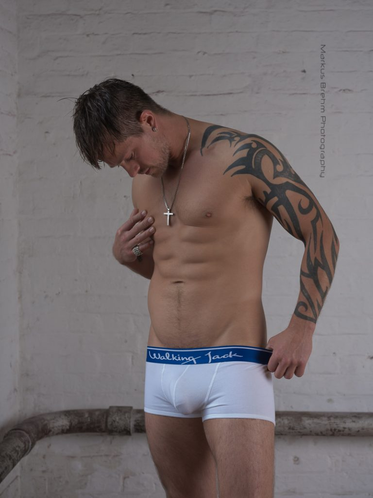 Oliver Spedding by Markus Brehm - Walking Jack underwear