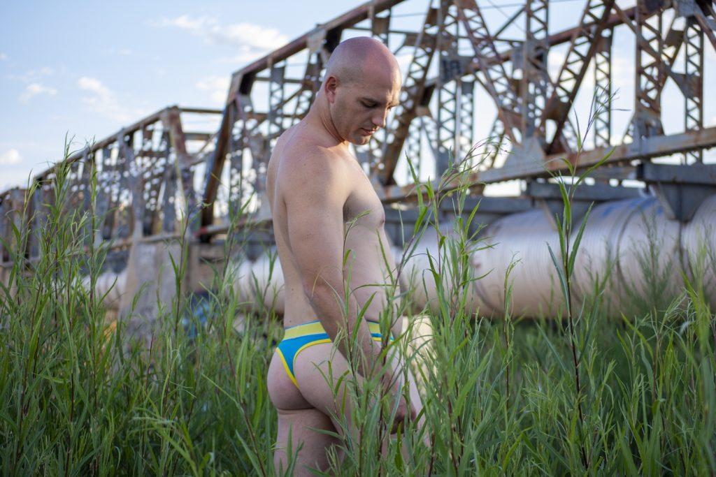 Brad by Adam R in MalePower underwear