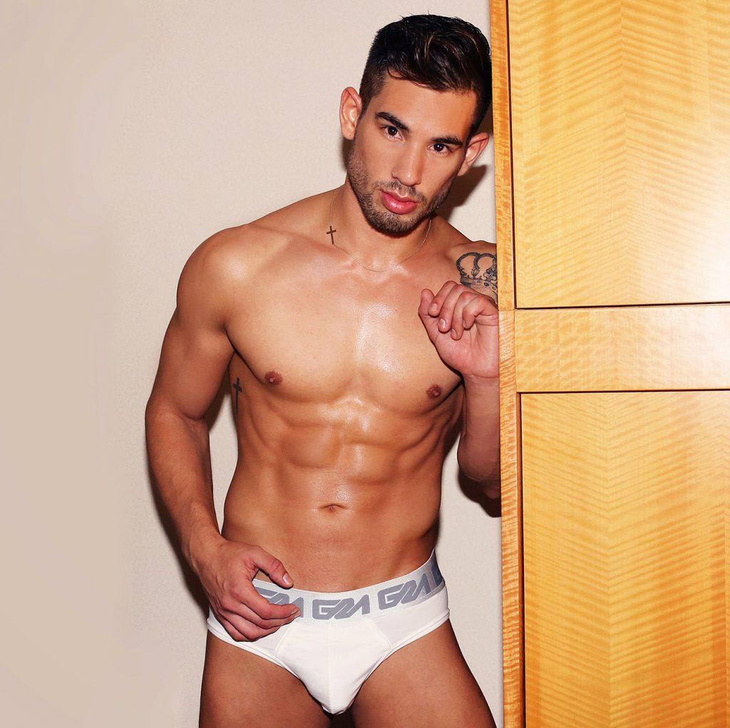 Garccon Model Underwear with model Nicolas by Karim Konrad