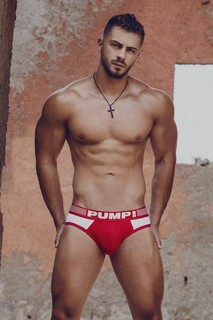 Kevin De La Cruz photographed by Adrian C. Martin - PUMP Underwear