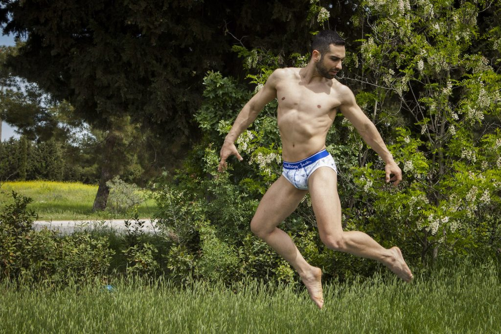 Vangelis Georgiadis by Doitsini - Walking Jack Graphic briefs