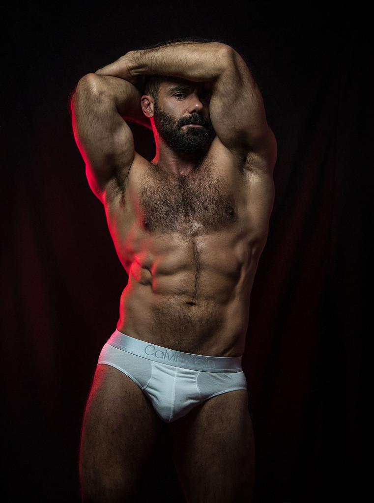 Model Yesu Toro by Inch Photography for eroticco magazine.