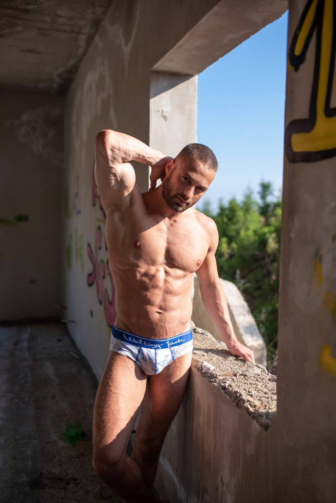 Walking Jack underwear - Andreas Demetriou by Xanthos Georgiou