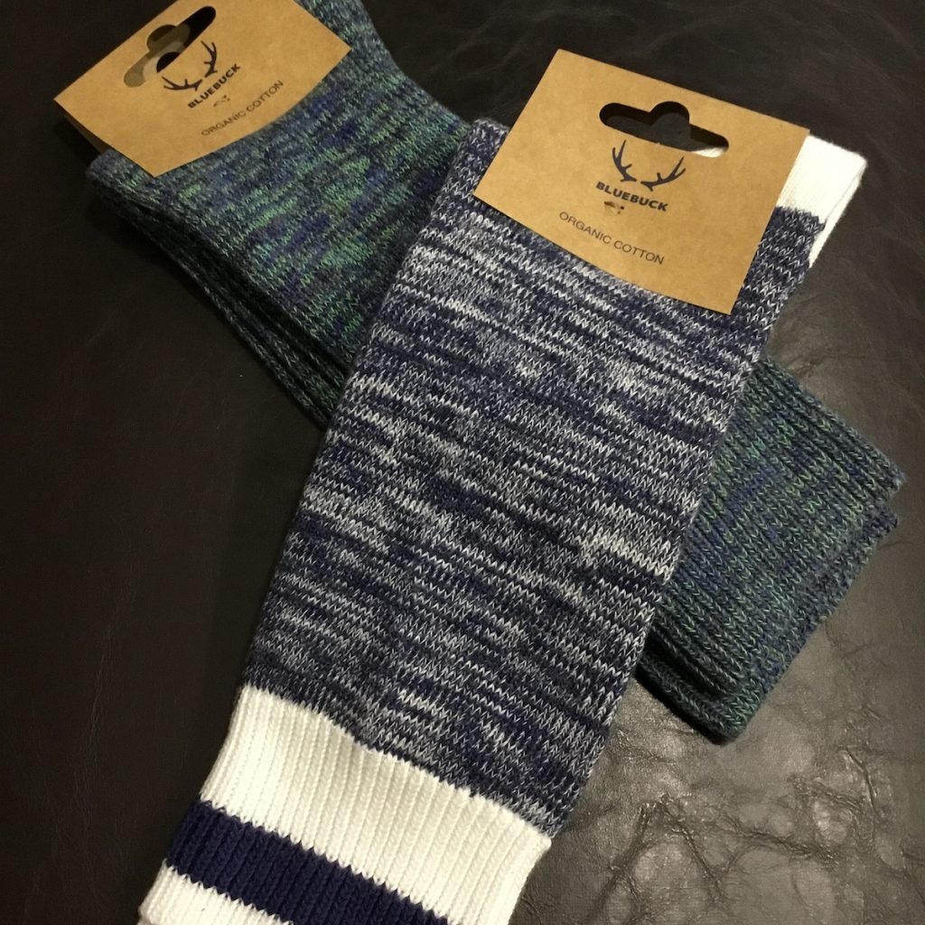 Organic cotton socks for men by Bluebuck.