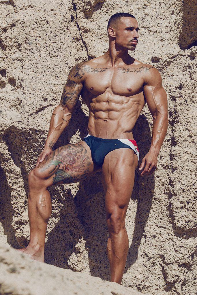 Dailos Trujillo by Adrian C. Martin - Marcuse swimwear