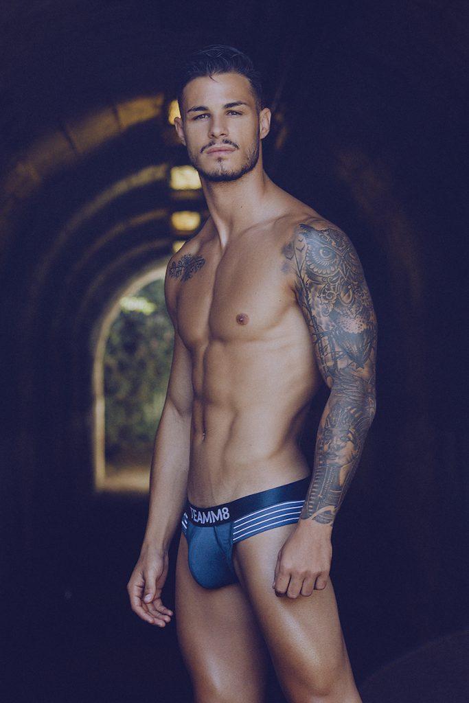 Jose Manuel Gonzalez by Adrian C. Martin - Teamm8 underwear
