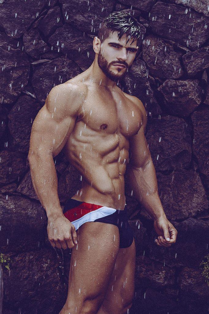 Kevin Hernandez by Adrian C. Martin - Marcuse swimwear