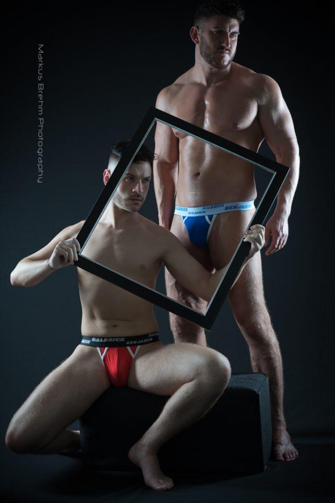 Rob Red and Al Ry by Markus Brehm - Baldrick Benjamin underwear 01