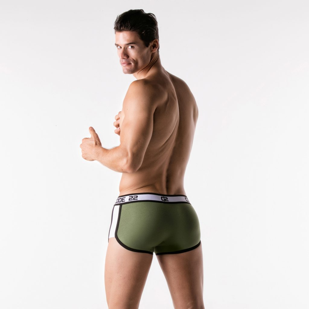 CODE 22 underwear - Sport Racer Trunks