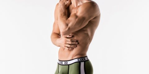 CODE 22 underwear - Sport Racer Trunks