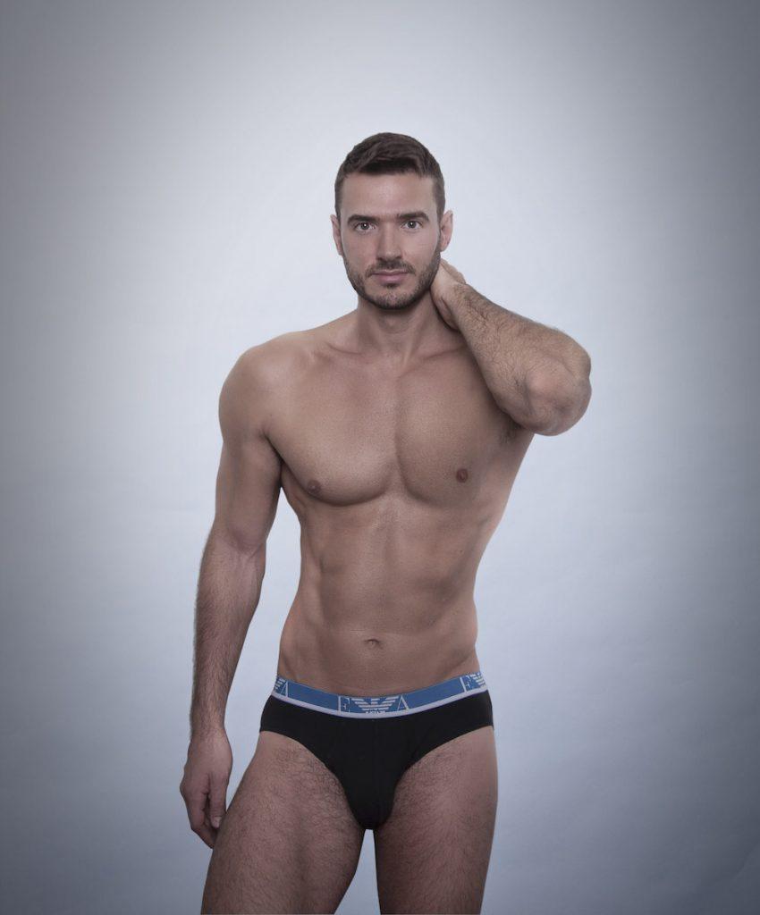 Emporio Armani underwear - Milutin by Inch Photography