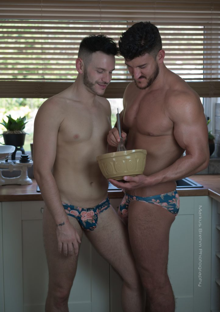 Kale Owen underwear - Rob Red and Al Ry by Markus Brehm