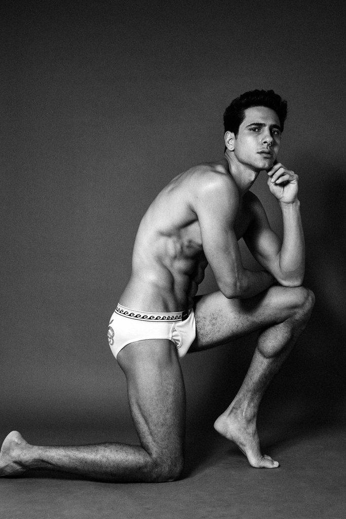 Vinicius Severo by Pedro Pedreira - Les Amis Homme underwear. Via Image Amplified.