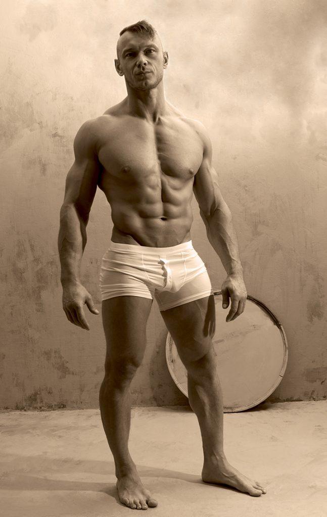Model Arek by Gavin H - Allvar underwear