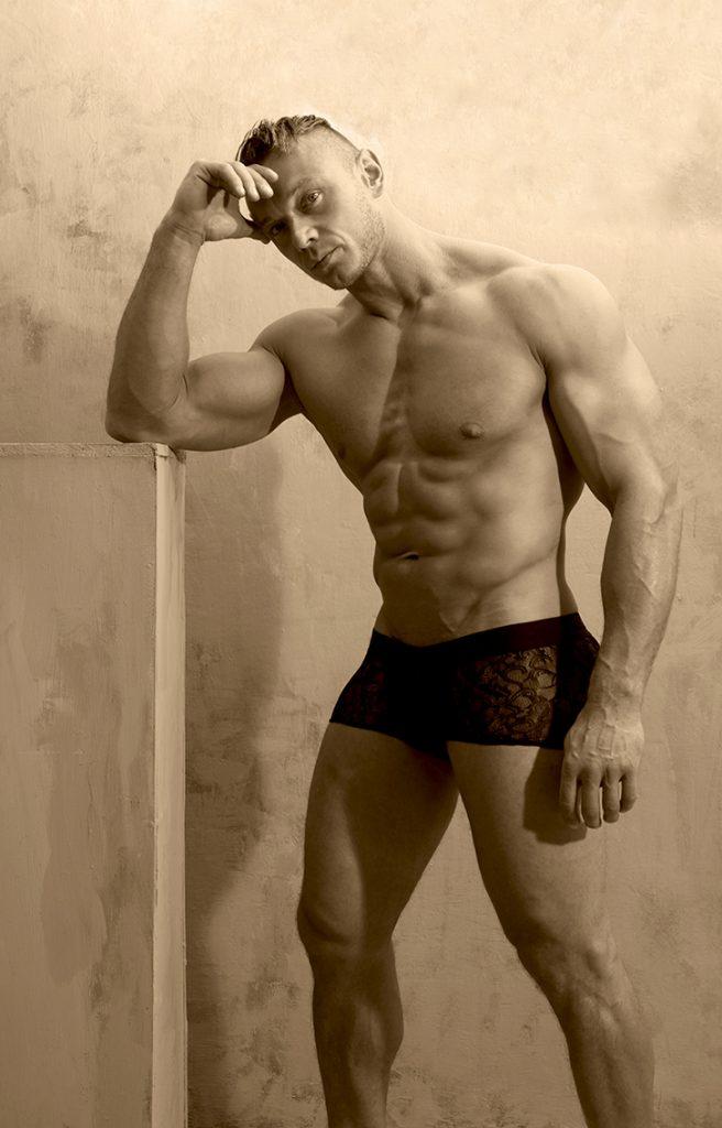 Model Arek by Gavin H - L'Homme Invisible underwear