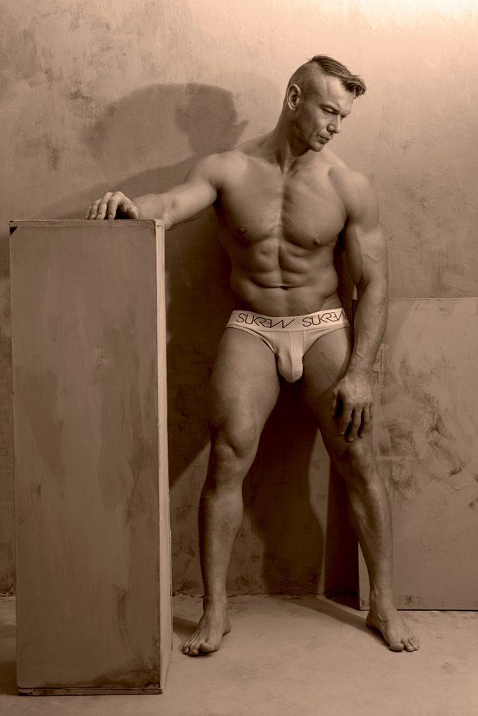 Model Arek by Gavin H - SUKREW underwear