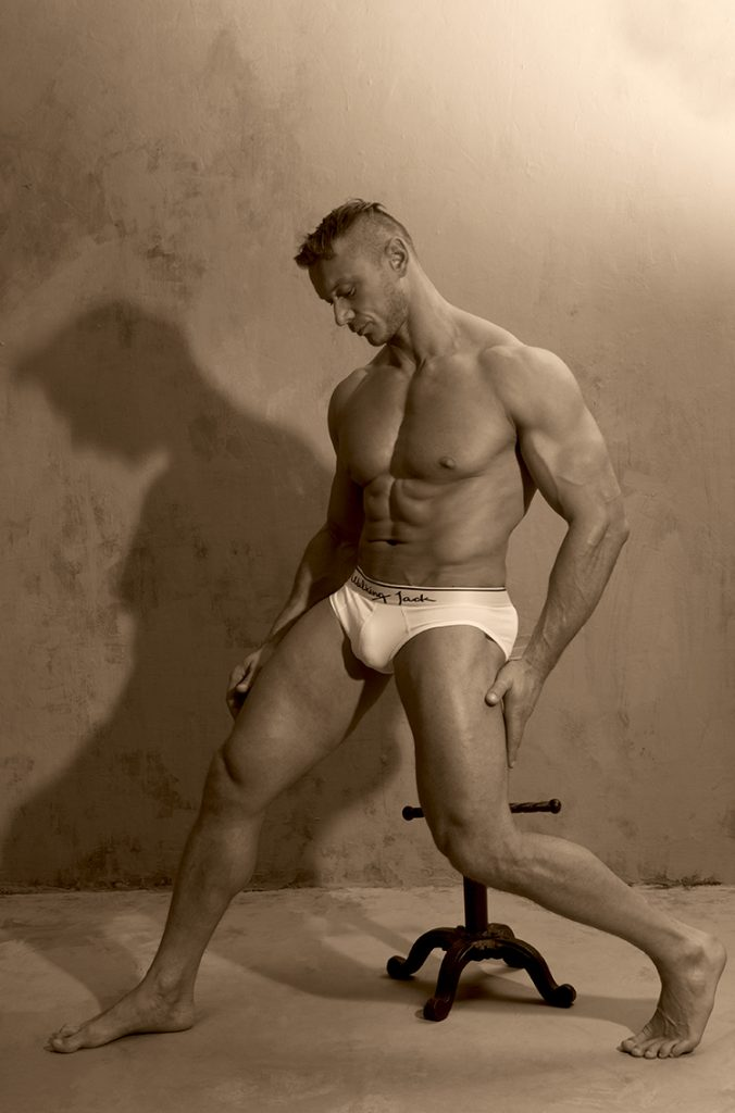 Model Arek by Gavin H - Walking Jack underwear