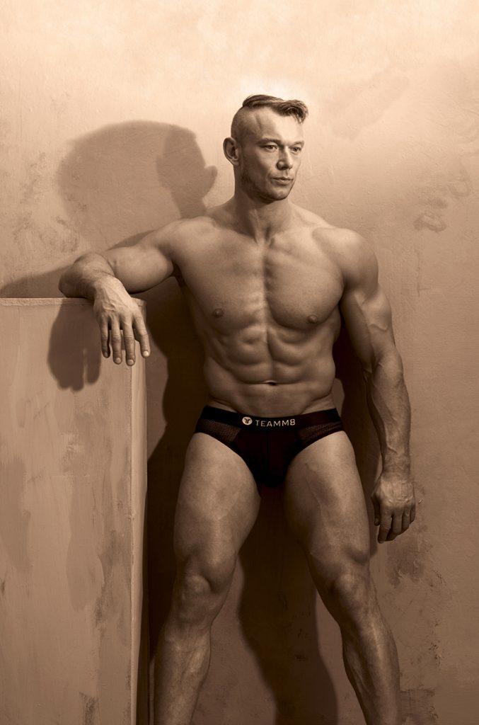 Model Arek by Gavin H - teamm8 underwear