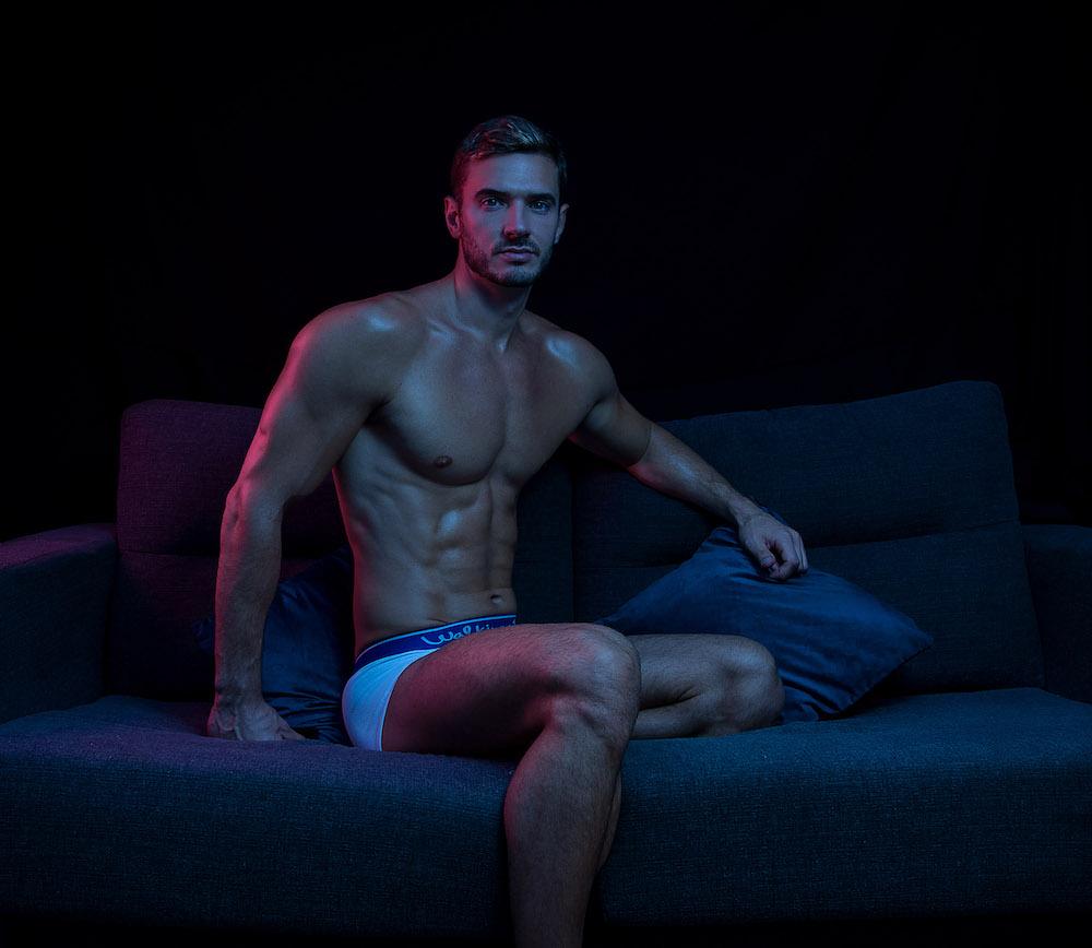 Walking Jack underwear - Milutin by Inch Photography