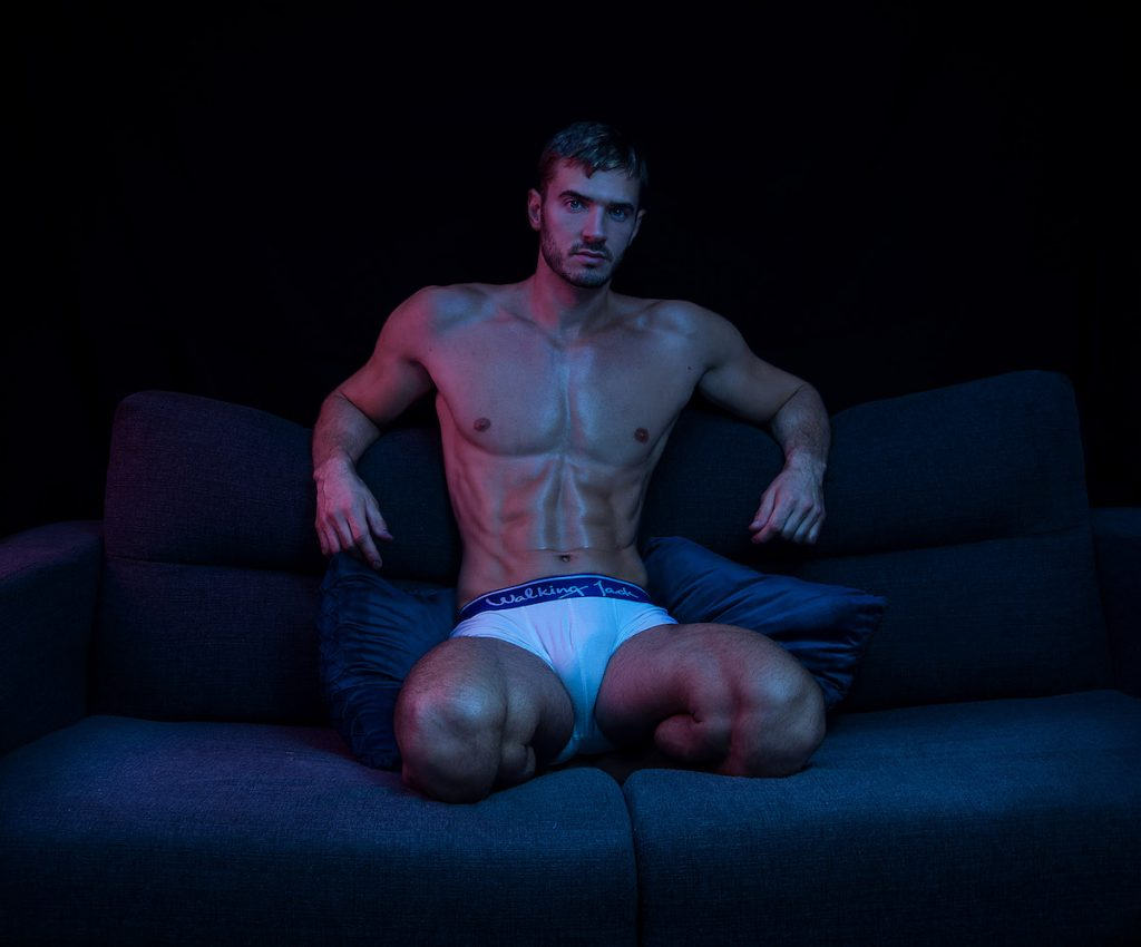 Walking Jack underwear - Milutin by Inch Photography