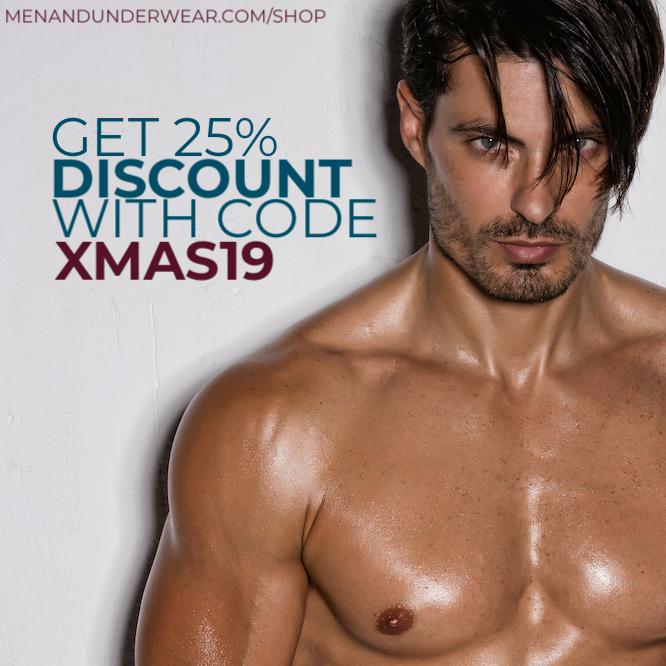 XMAS sale at Men and Underwear The Shop