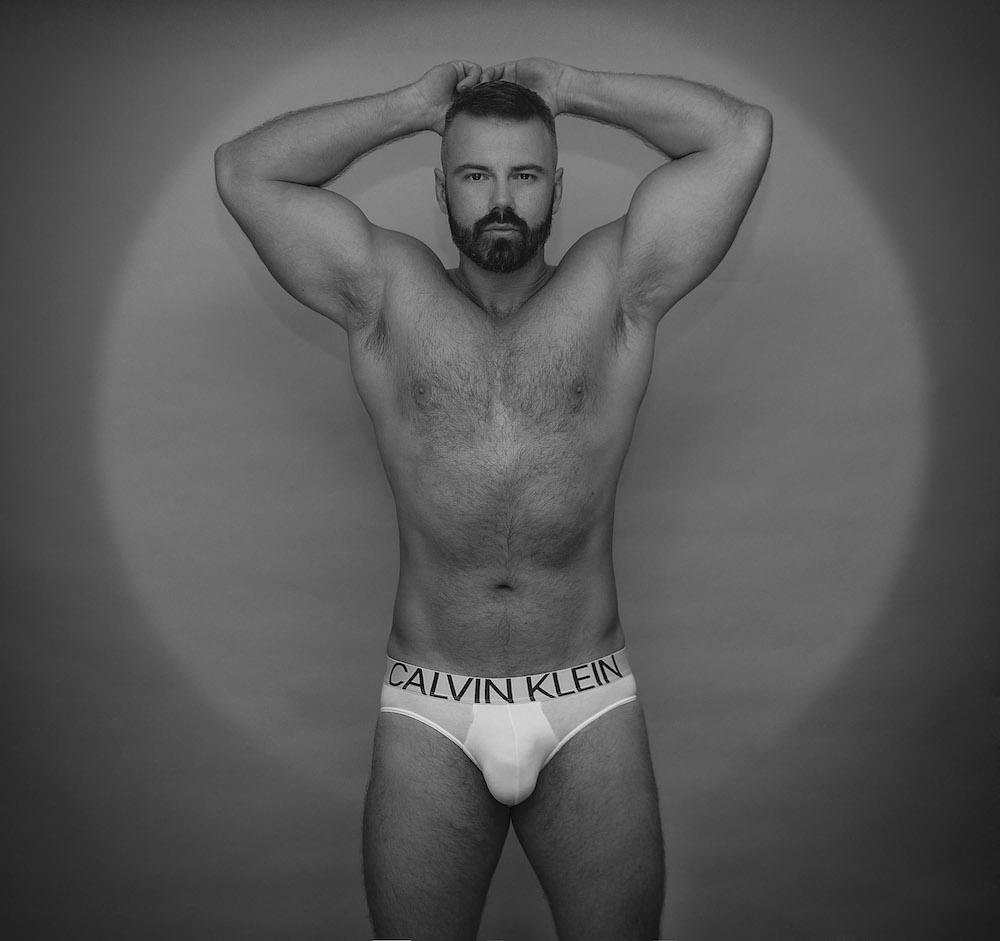 Calvin Klein underwear model Darko Knauf by Inch Photography