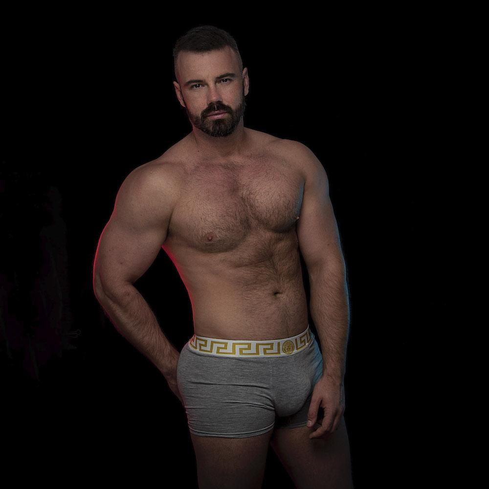 Versace underwear model Darko Knauf by Inch Photography