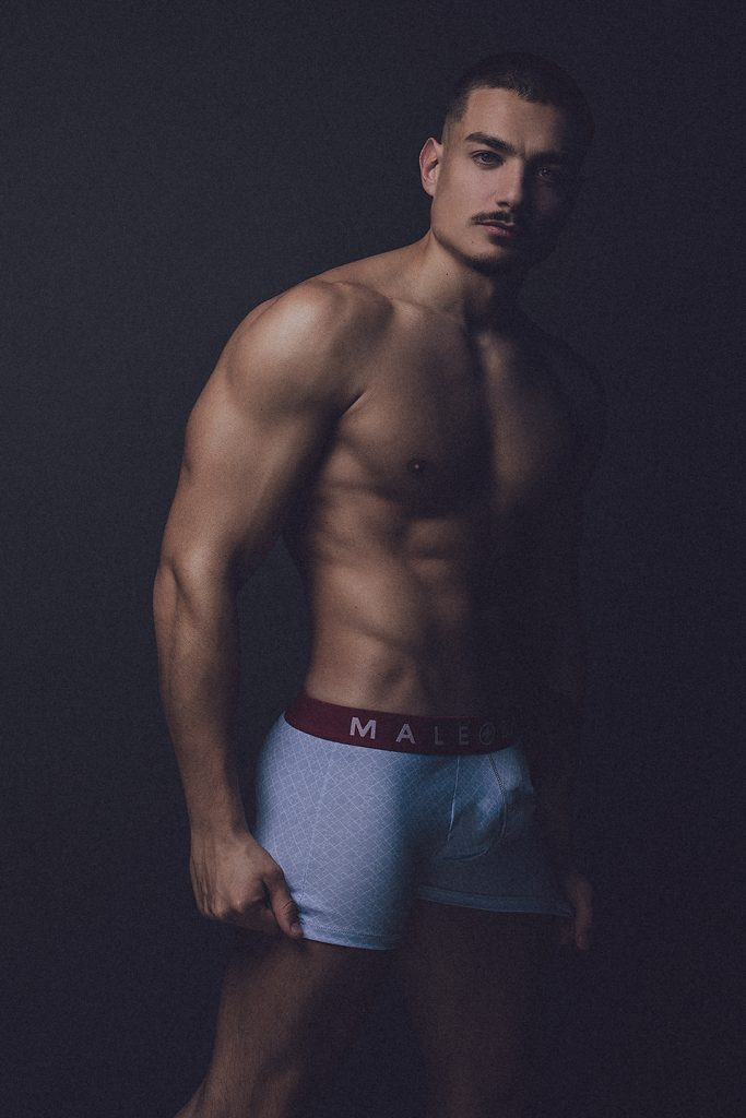 Model Carlos by Adrian C. Martin - MaleBasics underwear