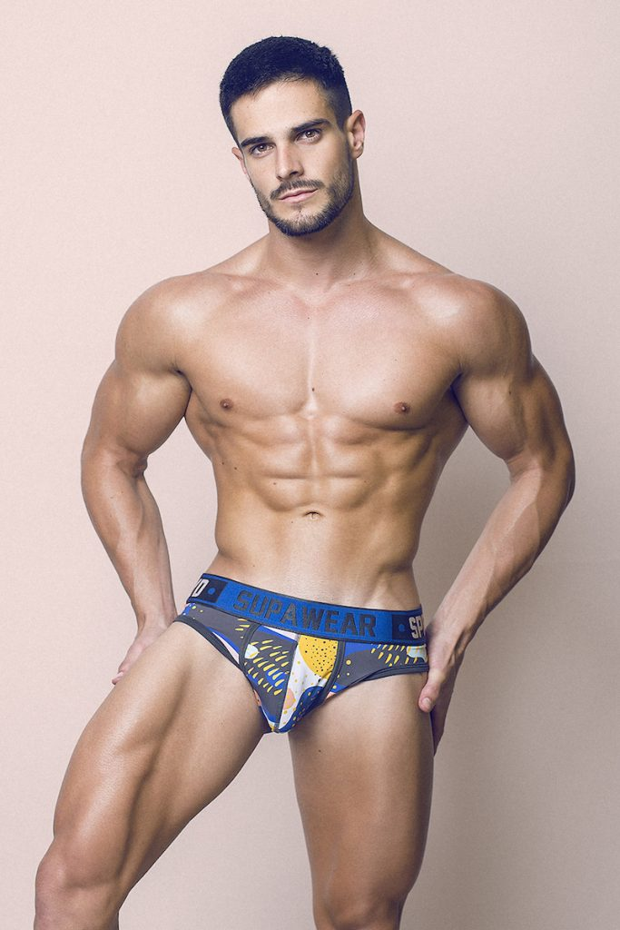 Supawear underwear - Model Jorge by Adrian C. Martin
