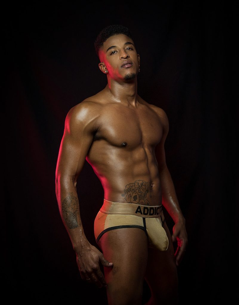 Addicted underwear - Model Nijarvis