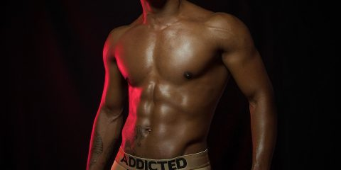 Addicted underwear - Model Nijarvis