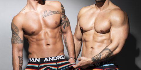 Andrew Christian underwear - California Stripe W: Almost Naked