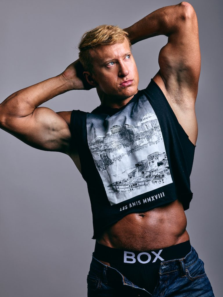 BOX Menswear - model Carter Wilson by Treys Photo