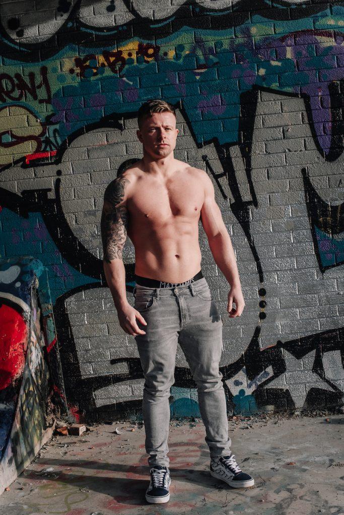 Matt James underwear - model Jonny by STUNN Photography