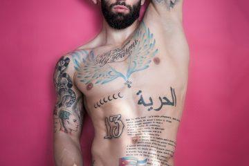Model Gabriel by Kuros - Renny Rojas swimwear