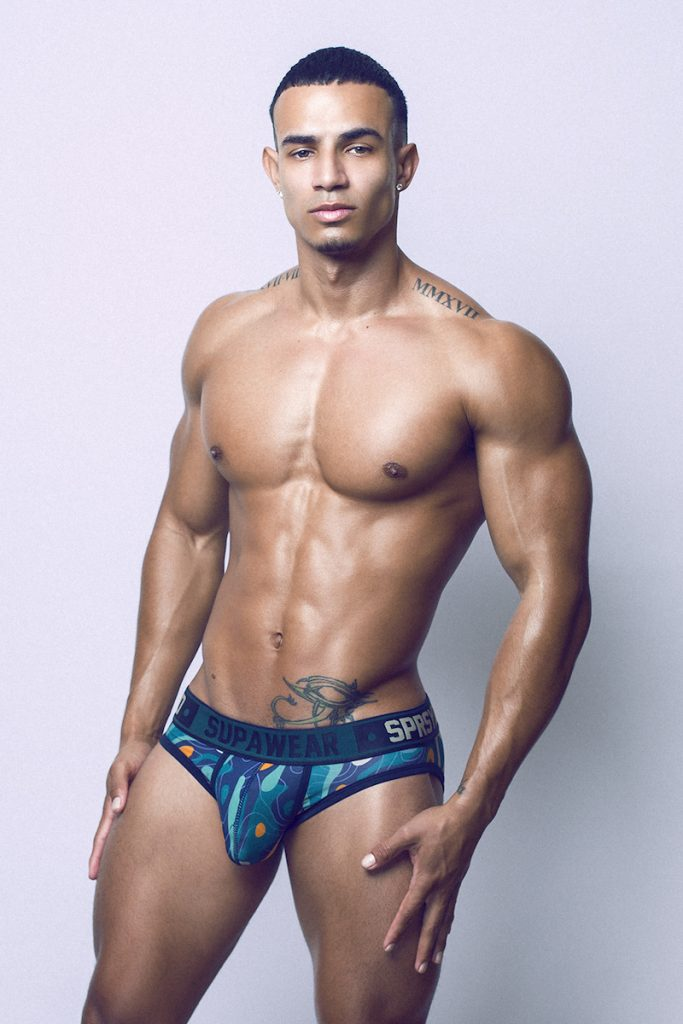 Supawear underwear - Jey Montano by Adrian C Martin