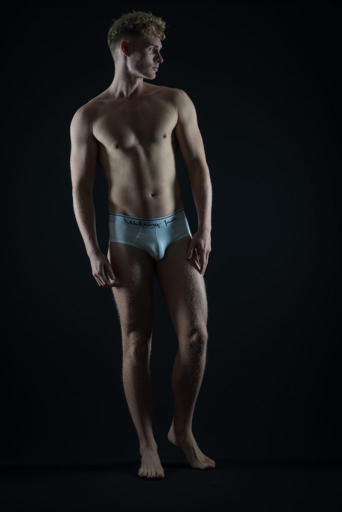 Walking Jack underwear - model Edward Griffith by Markus Brehm