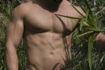 AMU underwear - Model Ian photographed by MDZmanagement