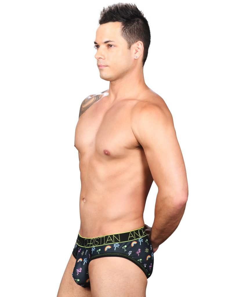 Andrew Christian underwear - Neon Paradise Brief w: Almost Naked 91411 Brief