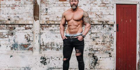 Matt James underwear - Athlete Sencer by STUNN photography