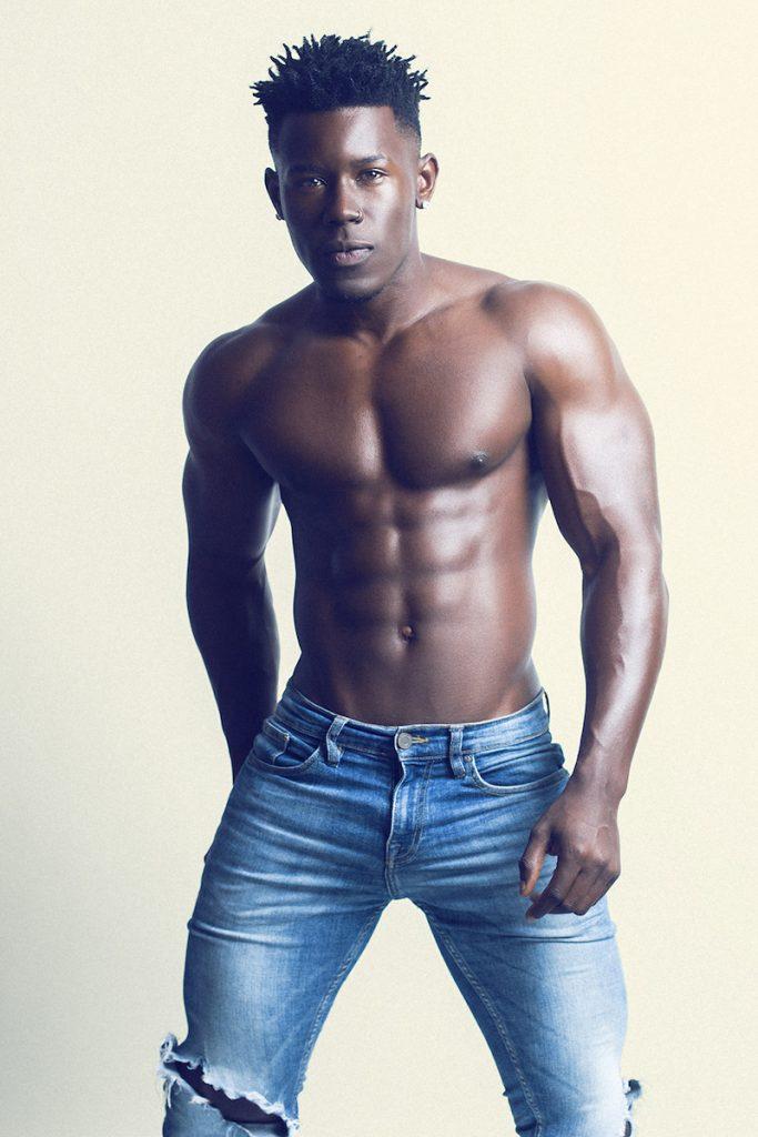 Model Eduardo photographed by Adrian C. Martin