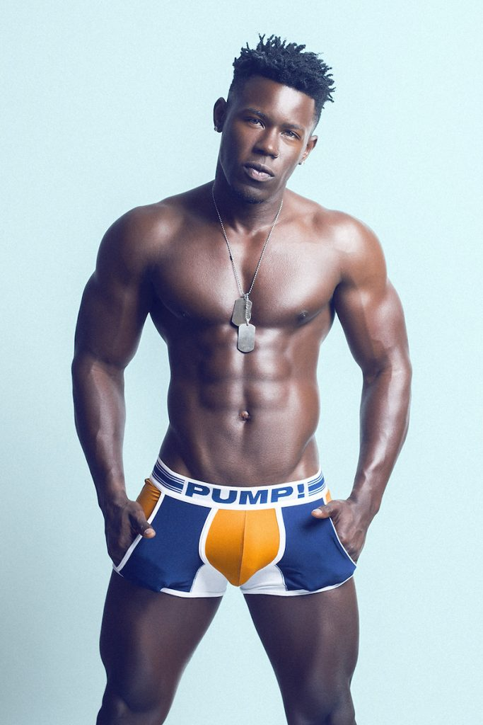 PUMP underwear - Model Eduardo photographed by Adrian C. Martin