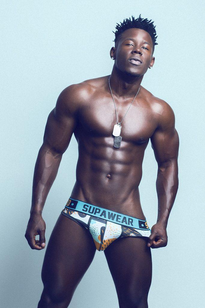 Supawear underwear - Model Eduardo photographed by Adrian C. Martin
