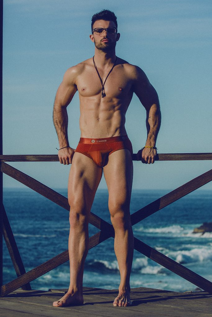 Teamm8 underwear - Model Andres photographed by Adrian C. Martin