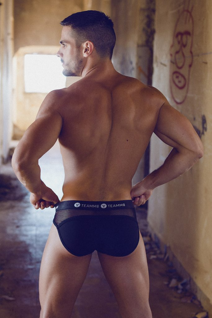 teamm8 briefs - Model Jorge photographed by Adrian C. Martin