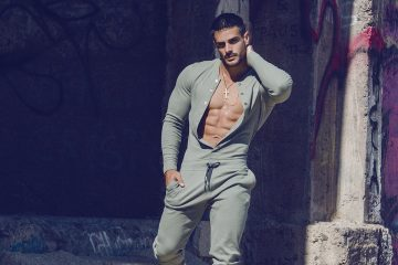 teamm8 onesies - Model Jorge photographed by Adrian C. Martin