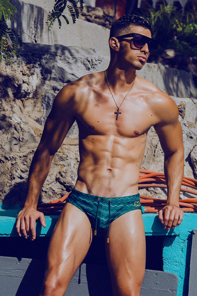 2Eros swimwear - Model Mikel by Adrian C. Martin
