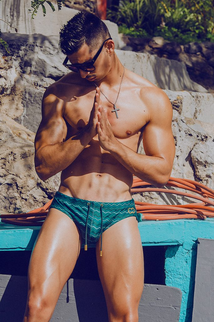 2Eros swimwear - Model Mikel by Adrian C. Martin 02